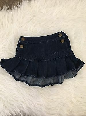 Baby Gap Toddler Girls Denim Jean Skirt Super Cute Size 18-24 Months
