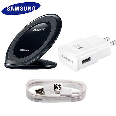 Original Samsung Galaxy S8 S8 Plus Fast Wall Charger/Wireless Charging Stand Pad