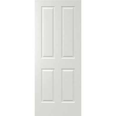 820 x 2040 4 Panel Solid Door