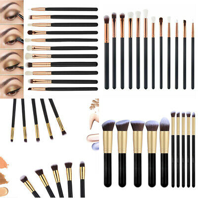 Kosmetikkoffer mit 12pcs Make-up Pinsel Schminkkoffer Beauty Case Schmuckkoffer