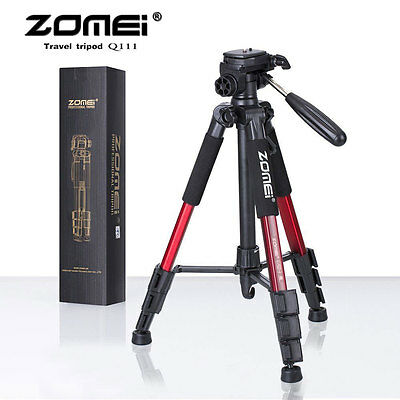Zomei Q111 Professional Heavy Duty Aluminium Tripod&Pan Head for DSLR Camera MAX