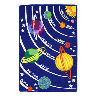 NEW Kenware Kids' Planets Play Rug 100x150cm