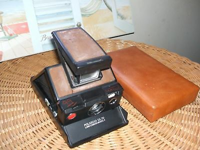 Polaroid SX-70 Model 3 Tested Works Great
