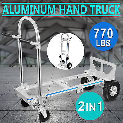 Diable Chariot Pliable Brouette max 350kg Trolley Transformable Ultra leger