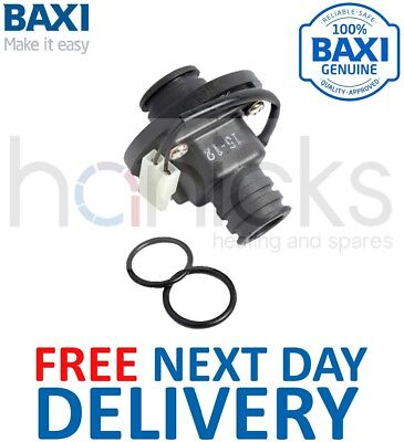 Baxi Flow Switch 242459 9102596 B242459 E06-059 Genuine Part | Free Del *NEW*