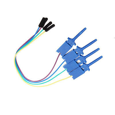 1PCS Test Clamp Wire Hook Test Clip for Logic Analyzer Electronic Components L