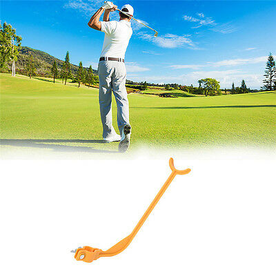 Golf Alignment Posture Beginner Swing Training Aids Practice Swing Trainer Guide