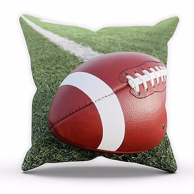 American Football Field Cushion NFL Print Home Decor Cover Pillow Bed Linen C14