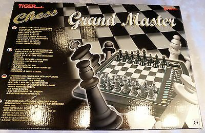 Boxed 100 % Complete Grand Master Electronic Chess Game by Tiger Electronics