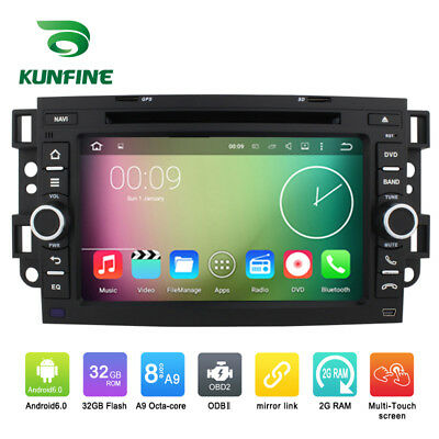 Android 6.0 Octa Core Car Stereo DVD GPS Navigation Player For Chevrolet Aveo 02