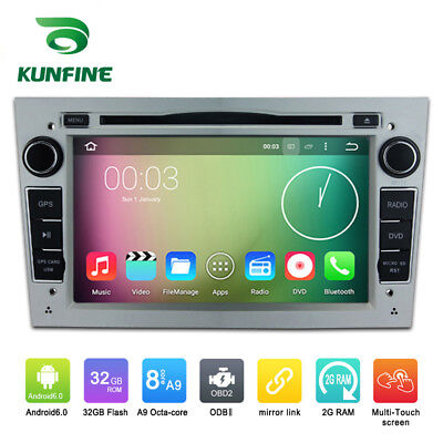 Android 6.0 Octa Core Car Stereo DVD GPS Navigation Player For OPEL Astra 04-09