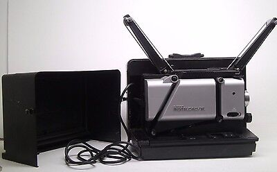 Vintage Singer Instaload Xl 16Mm Sound Movie Projector Portable Case Free S+H Wo