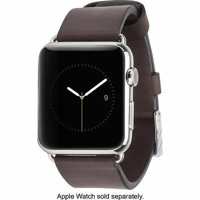Case-Mate - Signature Smartwatch Band - Tobacco CM032795 Brown