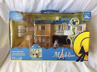 MADELINE LA PETITE OLD HOUSE IN PARIS PEPITO Opening Night Figures Toys LOT NEW