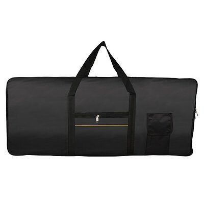 Portable 61-Key Keyboard Electric Piano Padded Case Gig Bag Oxford Cloth I9F6