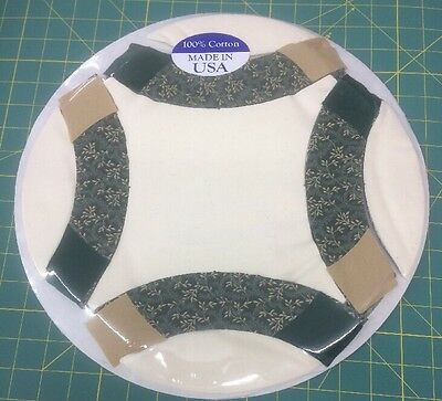 """Mom's Favorite Quilt Top Pre-Cut WEDDING RING Quilt Kit and Pattern 55""""×75"""" #601"""