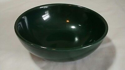 Mid Century Iroquois Casual China Russel Wright Dark Green Fruit Berry Bowl