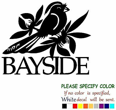 BAYSIDE Rock Music Graphic Die Cut decal sticker Car Truck Boat Window 6""