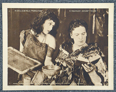 Male And Female '19 Gloria Swanson Meighan DeMille Silent Comedy Lobby Card