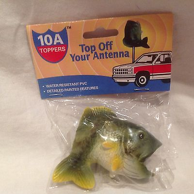 Antenna Topper-Bass- Bass Fishing -10A Toppers- Smallmouth Largemouth Tournament