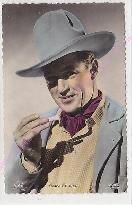 Cpsm Rppc Star Gary Cooper Photo United Artist Viny 78