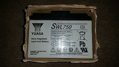 YUASA SWL750 Lead Acid Rechargeable Battery