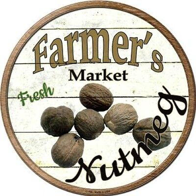 Home Decor Plaques & Signs Farmers Market Broccoli 12 Round Metal Kitchen Sign Novelty Retro Home Decor