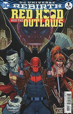 Red Hood And the Outlaws #1 2016 DC Comics Rebirth