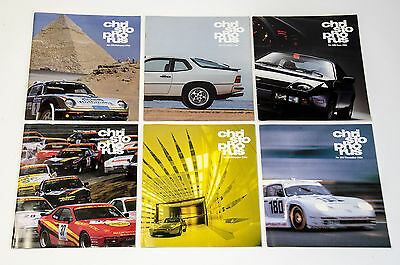 1986 Porsche Christophorus – FULL YEAR ALL 6 ISSUES – No. 198-203 Excellent!
