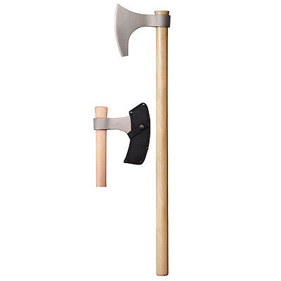 Cold Steel Viking Hand Axe 30in Overall w/Hickory Handle