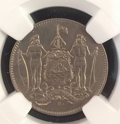 1935H British North Borneo Cent Ngc Ms61 Pop.2