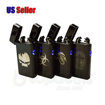 Double Arc USB Hot Design Rechargeable Windproof Clgarette Electronic Lighter
