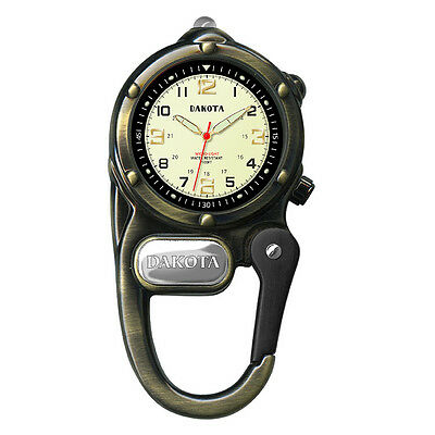Dakota Watch Mini Clip with Microlight - Antique Gold