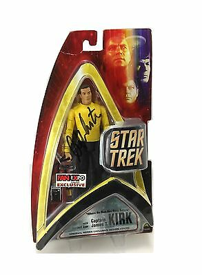 William Shatner Signed Star Trek Captain Kirk (Fan Expo Canada Comic Con) Figure