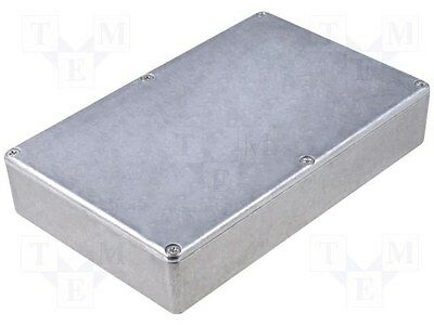 Diecast Aluminum metal Project Box 1590DD LARGE Synthrotek DIY Effects Pedal