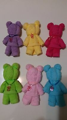 Lot of 6 Teddy Bears Diaper Cake Baby Shower Gift for Girl