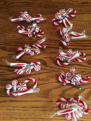 Lot of 10 Candy Cane Costume Headpieces One Size Handmade for Nutcracker Ballet