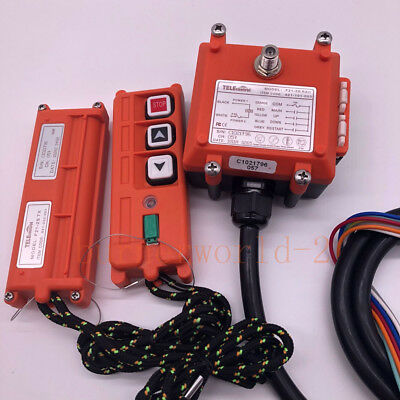 F21-2S Wireless Remote Control Mini Electric Hoist Winch Crane Remote Control