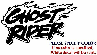 Ghost Rider Game Graphic Die Cut decal sticker Car Truck Boat Window 7""