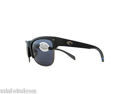 21a3ab957d4 new Costa Del Mar PAWLEYS Sunglasses Matte Black   Gray Polarized 580P PW  11 OGP