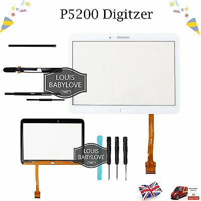 For Samsung Galaxy Tab 3 10.1 P5200 P5210 P5220Touch Screen Digitizer White UK