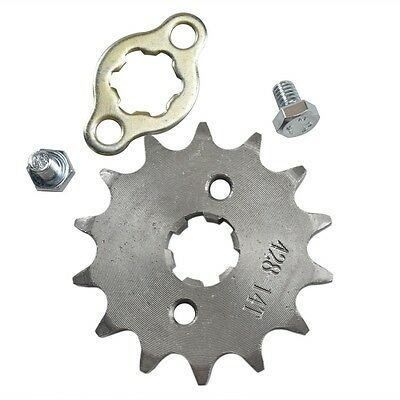 428 Chain Front Engine Sprocket 14T 17mm  PIT PRO Trail Dirt Quad ATV Buggy