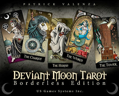 Deviant Moon Tarot: Borderless Edition Brand New Sealed Esoteric English