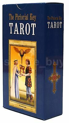 The Pictorial Key Tarot Cards Deck by Davide Corsi English Booklet FREE TRACKING