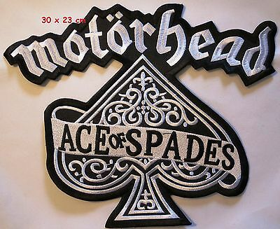 Motorhead- Ace of Spades - backpatch  - FREE SHIPPING