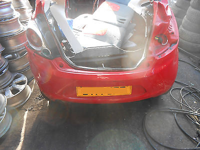 Ford Ka Mk  Red Complete Rear End Body Panel Frame Quarter Chassis