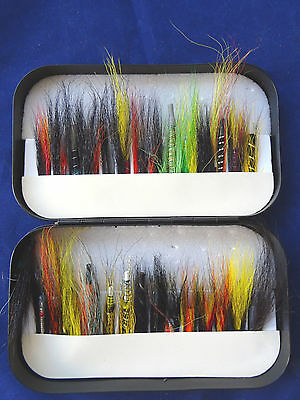 Very Good Vintage Wheatley Tube Fly Box With A Good Selection Of Tube Flies