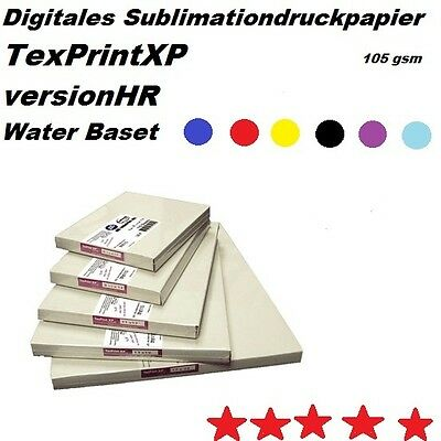 Sublimationspapier TexPrint XP-HR /10 Pack / 1100 Blatt)