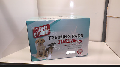 Puppy Dog Toilet Training Pads Absorbent Simple Solution 12 Pads Pack Hygiene