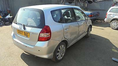 honda jazz 2007 silver nh007m fuel filler flap (ALSO BREAKING WHOLE CAR)